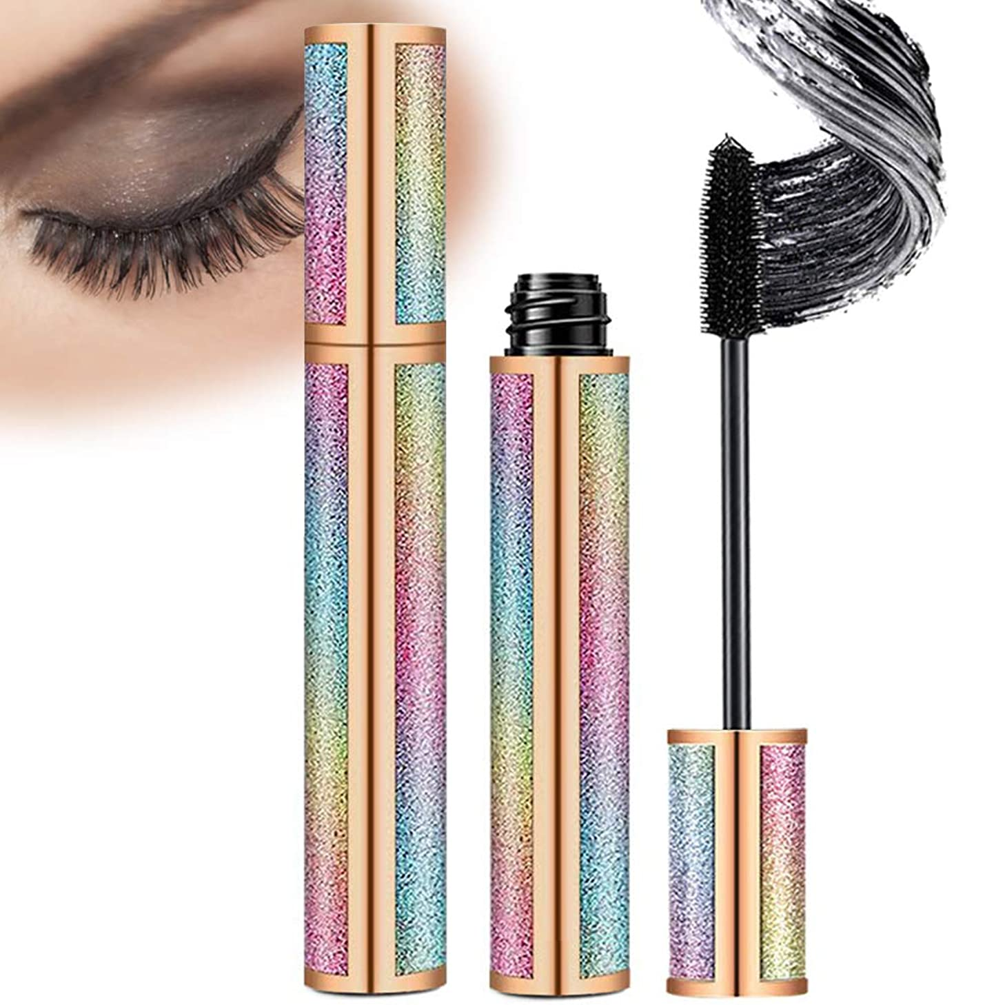 4D Silk Fiber Lash Mascara Natural Waterproof Lengthen Long Lasting?Lashes Mascara