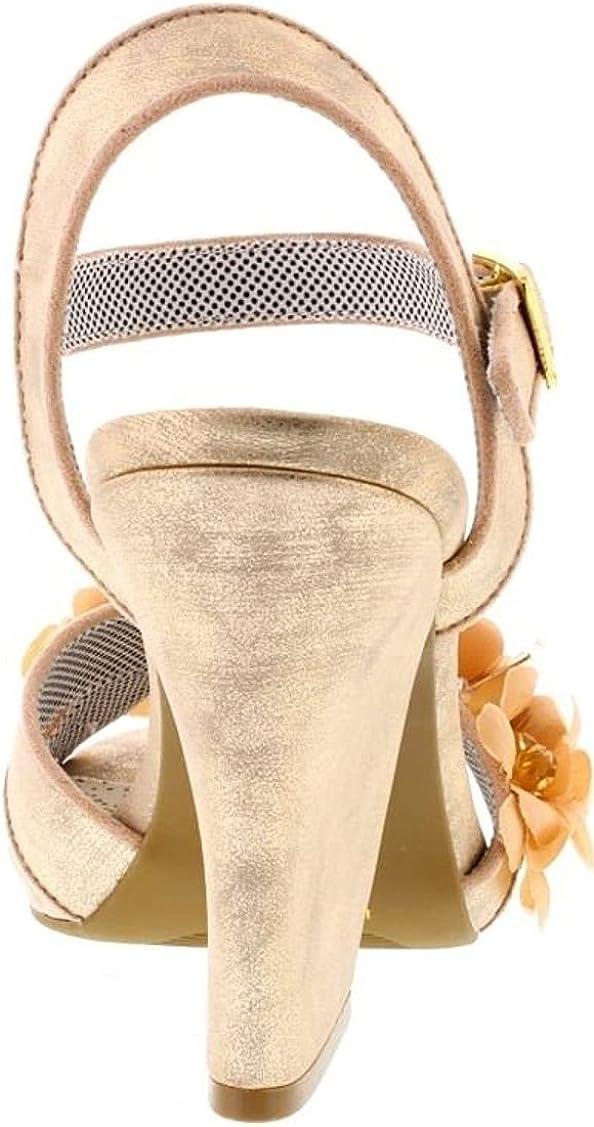 Ruby Shoo Ellen Sandals Pink Champagne