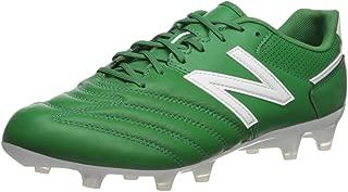 New Balance Men's 442 Team V1 Classic Soccer Shoe, Green/White, 5 D US