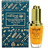 Natural Vibes ~ Gold Beauty Oil ~ Elixir for face, lips, neck and peaceful sleep ~15 ml