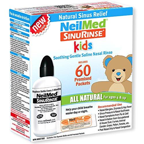 NeilMed SinusRinse Pädiatrisch Kit für Stirnhöhle & Allergie Erleichterung