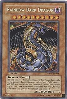 Yu-Gi-Oh! - Rainbow Dark Dragon (PTDN-EN003) - Phantom Darkness - Unlimited Edition - Secret Rare
