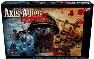 Avalon Hill C50100000 Axis & Allies & Zombies, Multi-colored