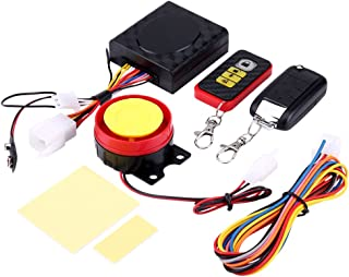 12V Universal Motorcycle Anti-theft Security Alarm System Remote Control