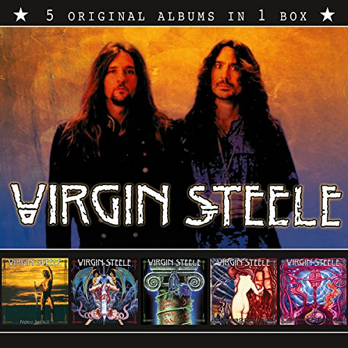 Virgin Steele Virgin Steele 5 Original Albums novo lacr orig