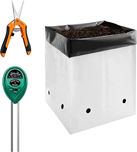 wholesale VIVOSUN 50-Pack 2 Gallon Grow Bags with Gardening Hand sale Pruner Pruning Shear online sale and Soil Tester online
