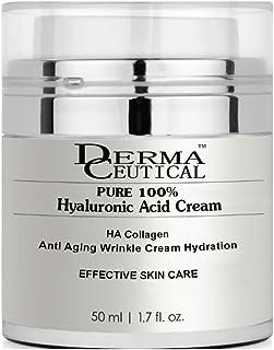 PURE 100% HYALURONIC ACID CREAM/HA Collagen Anti Aging Anti Wrinkle - DermaCeutical