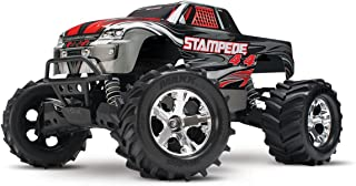 Traxxas Stampede 4X4: 1/10 Scale 4wd Monster Truck with TQ 2.4GHz Radio, Silver