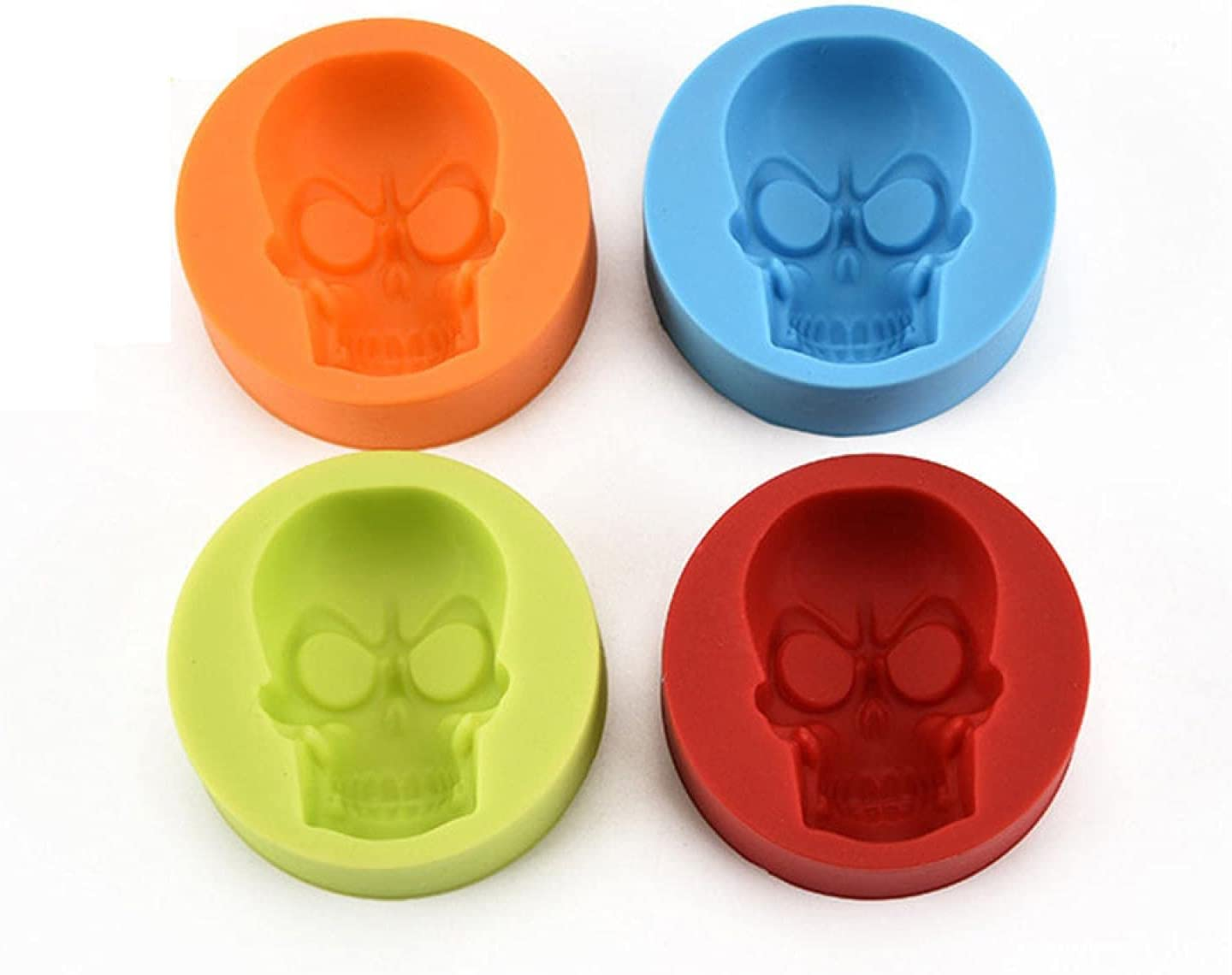 Limited Max 66% OFF price sale 3D Skull Halloween Silicone Mold Fondant Chocolate B Cake Making