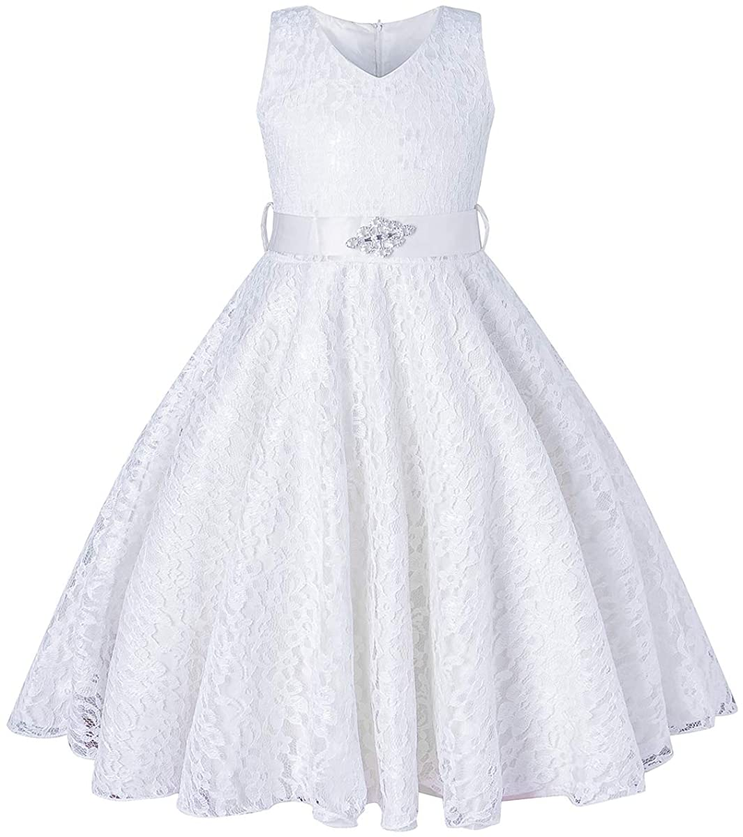 BEAUTY CHARM online shopping Girls Tulle Lace Glitter Prom Vintage Purchase Dress Pageant