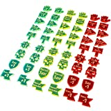 54 laser cut tokens in fluorescent green, fluorescent yellow, & fluorescent pink Compatible with Warhammer: Age of Sigmar Mark and identify modifiers Bright etching Unique shapes
