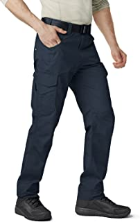 CQR Men's Work Rip-Stop Tactical Utility Operator Pants EDC