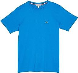 Short Sleeve Solid Crew T-Shirt (Toddler/Little Kids/Big Kids)