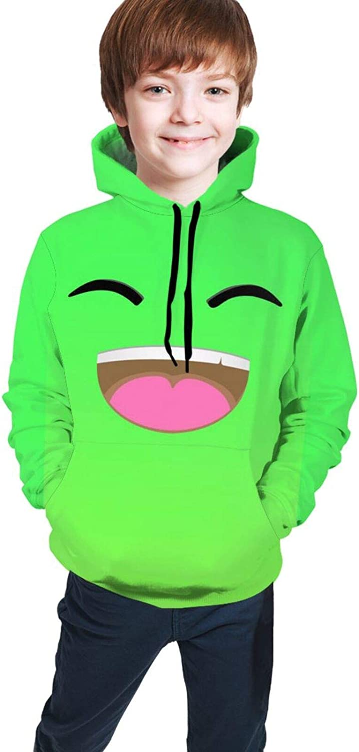 Jelly Youth Hoodie 3d Sweater Boy Girl Pullover Sweatshirt 6-16 Years