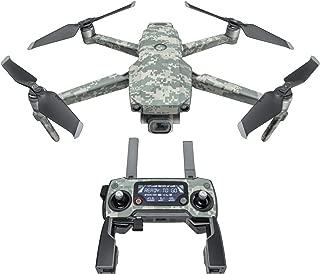 DJI Mavic 贴花套件 - 包括 1 个无人机/电池皮肤 + 控制器皮肤 ACU CAMO Mavic 2/Zoom DJIM2-ACUCAMO