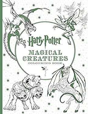 Harry Potter Magical Creatures Colouring Book [Paperback] [Mar 14, 2016]