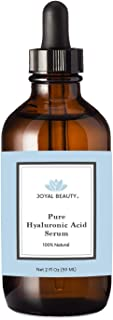 Hyaluronic Acid Serum for Face Skin Lips (2 OZ) 100% Pure All Natural Highest Quality Anti-Aging Serum. Intense Hydration Deep Moisture. Alcohol-Free Paraben-Free. Best Hyaluronic Acid for Skin