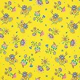 Fabulous Fabrics Jersey gelb, Kindermotiv, 145cm breit