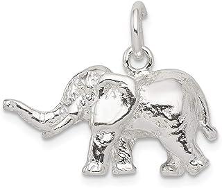 Elephant Zoo Safari Africa Animal Dangle Charm for European Bead Slide Bracelets Fashion Jewelry for Women Man