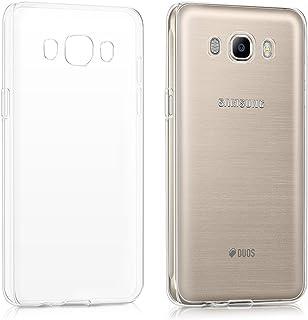kwmobile Hülle kompatibel mit Samsung Galaxy J5 (2016) DUOS   Handyhülle   Handy Case in Transparent