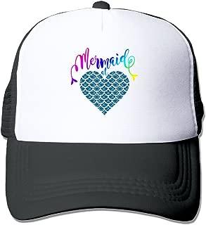 Mermaid at Heart 1 Mesh Women Snapback Trucker Baseball Hat