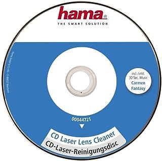Hama CD de nettoyage (pour tête de lecture laser, pour éliminer la poussière dans les..