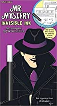 Lee Publications YES & Know Mr. Mystery Secret Agent Spy Invisible Ink Game Book