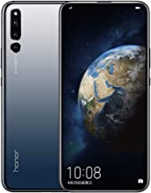 Gooplayer for Huawei Honor Magic 2 6.39 inch Smartphone Octa Core AI Camera Kirin 980 Android 9.0 NFC 6 FullView Display 40W Supercharge Dual SIM(6GB+128GB Magic Black)