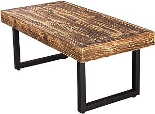 énorme réduction 60669 d7330 Amazon.fr : Table Basse Bois Et Fer Forgé