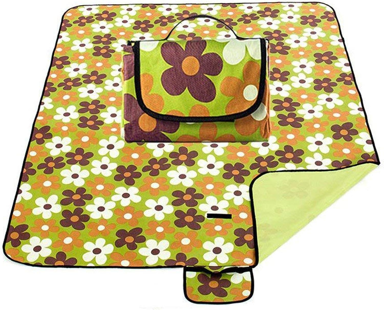 Outdoor Mat, Thickened Portable Outdoor Picnic Cloth mat mat Spring Picnic Lawn Camping Mattress pad
