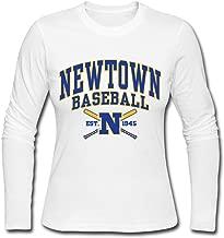 Vansty Newtown Babe Ruth League 100% Cotton T Shirt for Girlfriend