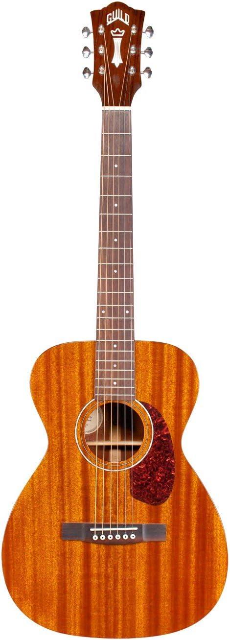 sale Guild M-120 Acoustic Guitar in Natural 5 ☆ popular