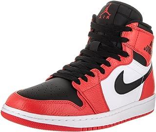 Mens Air Jordan 1 Retro High Basketball Shoe Max Orange/Black 13