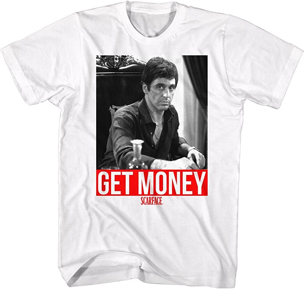 American Max 87% OFF Classics Men's Scarface Money T-Shirt Get Movie Ranking TOP5