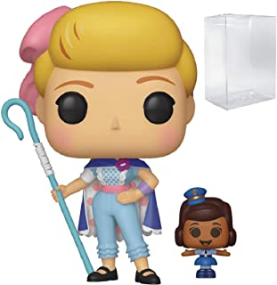 Disney Pixar: Toy Story 4 - Bo Peep with Officer Mcdimples Funko Pop! Vinyl Figure (Includes Compatible Pop Box Protector Case)