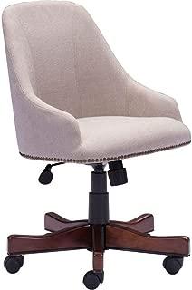 Zuo Modern Maximus Office Chair, Beige