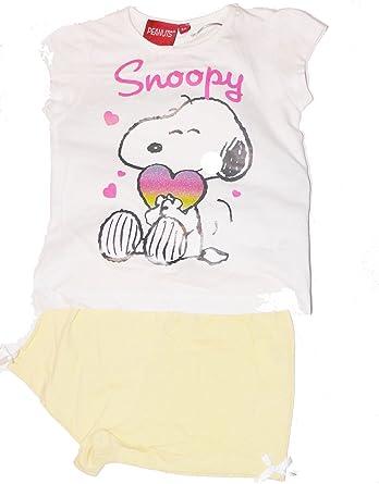 Snoopy - Pijama corto: Amazon.es: Ropa