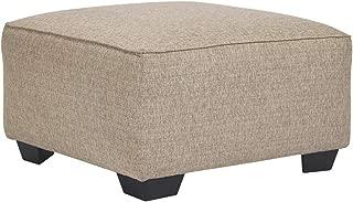 Ashley Furniture Signature Design - Baceno Oversized Accent Ottoman - Hemp