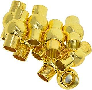 HEALLILY 100 Pcs en Acier Inoxydable Boule Perle Cha/îne Cordon Connecteur Fermoirs Bricolage Artisanat Fabrication de Bijoux Accessoires