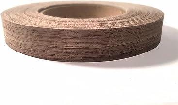"Edge Supply Walnut 3/4"" X 50' Roll Preglued, Wood Veneer Edge Banding, Flexible Wood Tape, Easy Application Iron On with H..."
