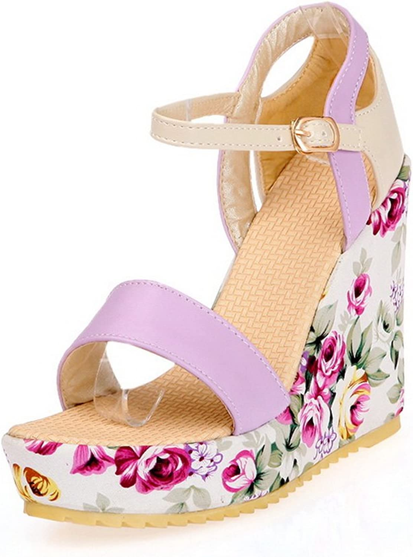 AN Womens Platforms-Sandals Firm-Ground Oversized Urethane Platforms Sandals DIU00760