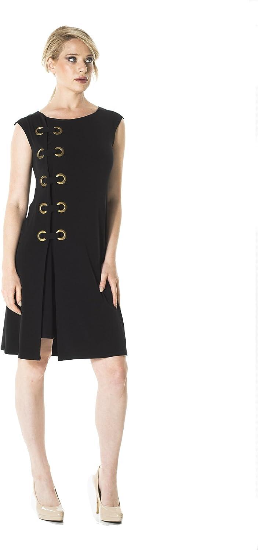 Eva Varro Women's Cup Sl Side Grommet Dress