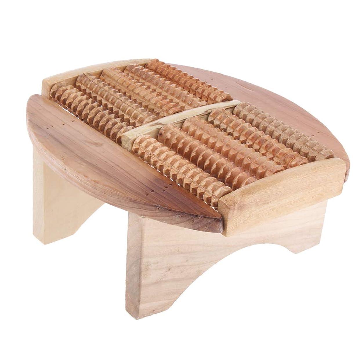 学習建物スピーチBaoblaze フットマッサージスツール 木製 足湯ステップ マッサージ スツール SPA