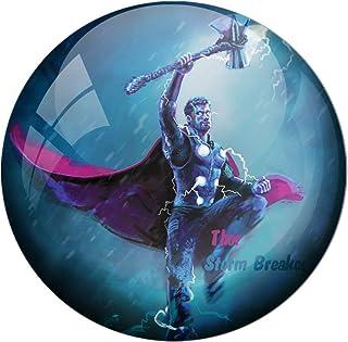 AVI Fridge Magnet with Blue Colour Thor Storm Breaker 58mm Design MR8000257
