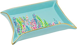 Lilly Pulitzer Women's Trinket Tray (Catch The Wave)