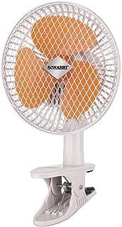 Sonashi 7'' Clip Fan - Sf-8009c (orange)