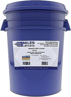 Milesyn SXR 15W40 API CK-4 Full Synthetic Diesel Motor Oil 5 Gallon Pail