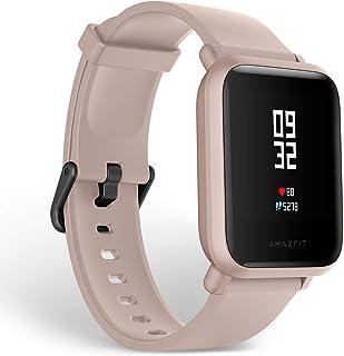 comprar comparacion Amazfit Bip Lite Smartwatch Reloj inteligente,Rastreador con monitor cardíaco y de gimnasia,Batería útil de 45 días,Sumerg...
