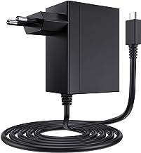EXTSUD Cargador para Nintendo Switch, Adaptador USB Tipo C para Nintendo Switch de Corriente 15V PD Cargador Rápido, Compatible con Nintendo Switch Lite, Admite Modo TV