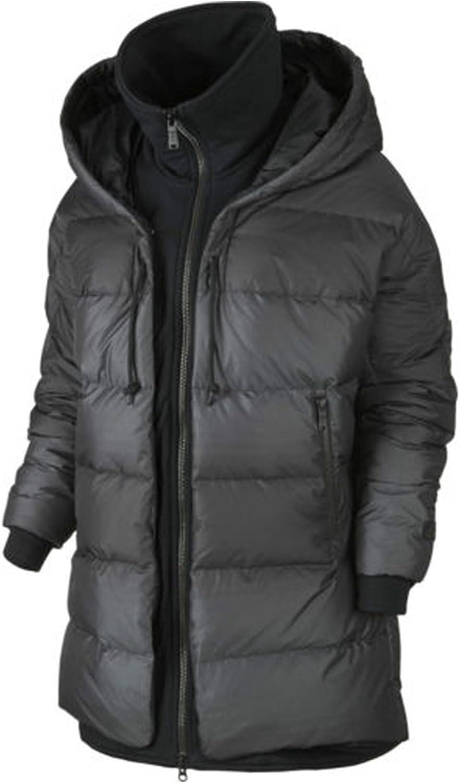 Nike Womens' Uptown 550 Cocoon Jacket Black